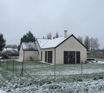 Maison 4 chambres à la campagne - Fougères-sur-Bièvre - บ้าน