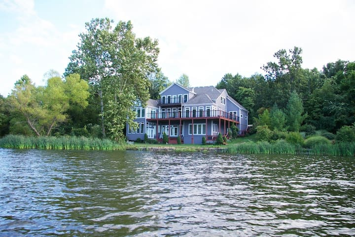 Luxury Home on Private Lake