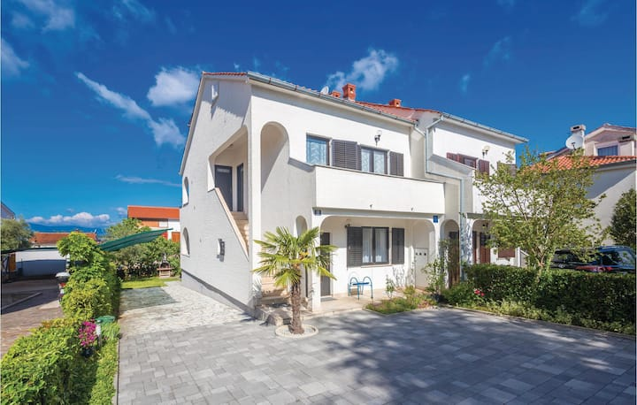 Beautiful home in Malinska with WiFi and 1 Bedrooms
