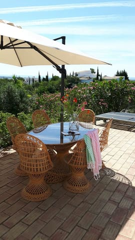 3 bedroom Country Villa With Private Pool - Quelfes - Willa