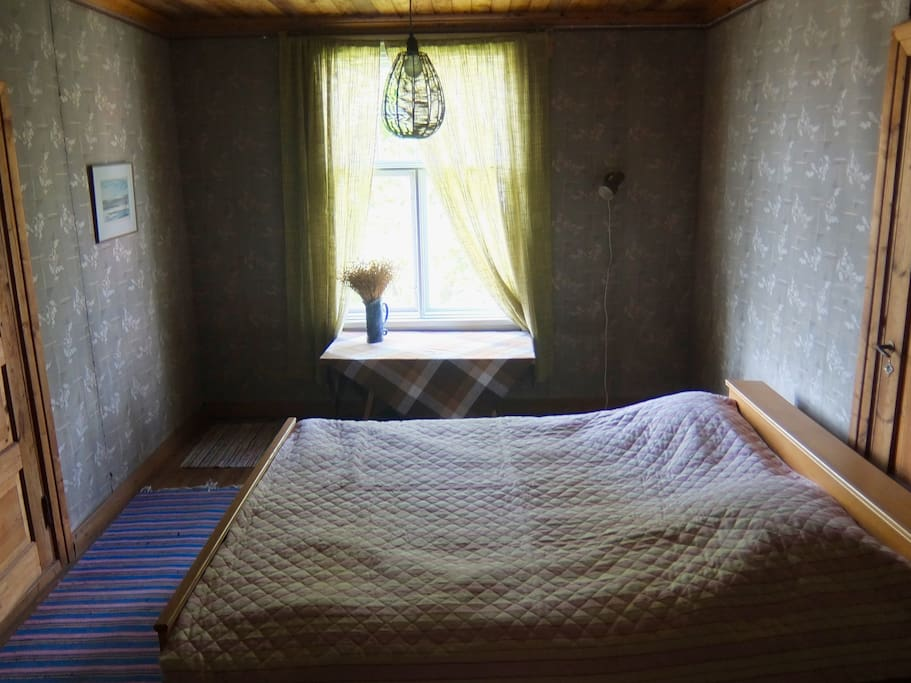 Bedroom 1 in the attic