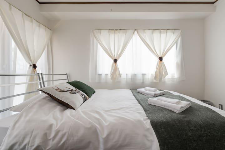 10 ベッド!