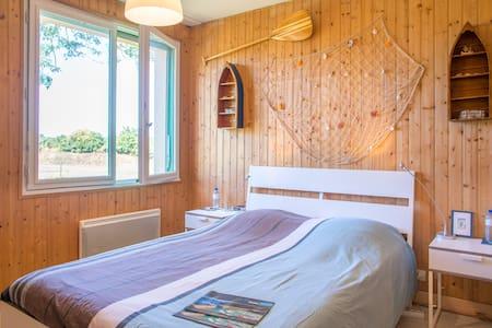 Chambre confort entre le Puy du fou et les plages - Les Essarts