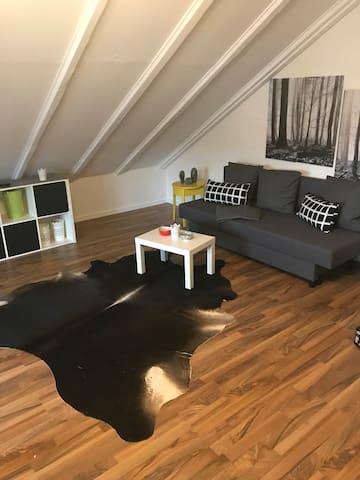 Helle Dachgeschosswohnung in bester Lage, Uninähe