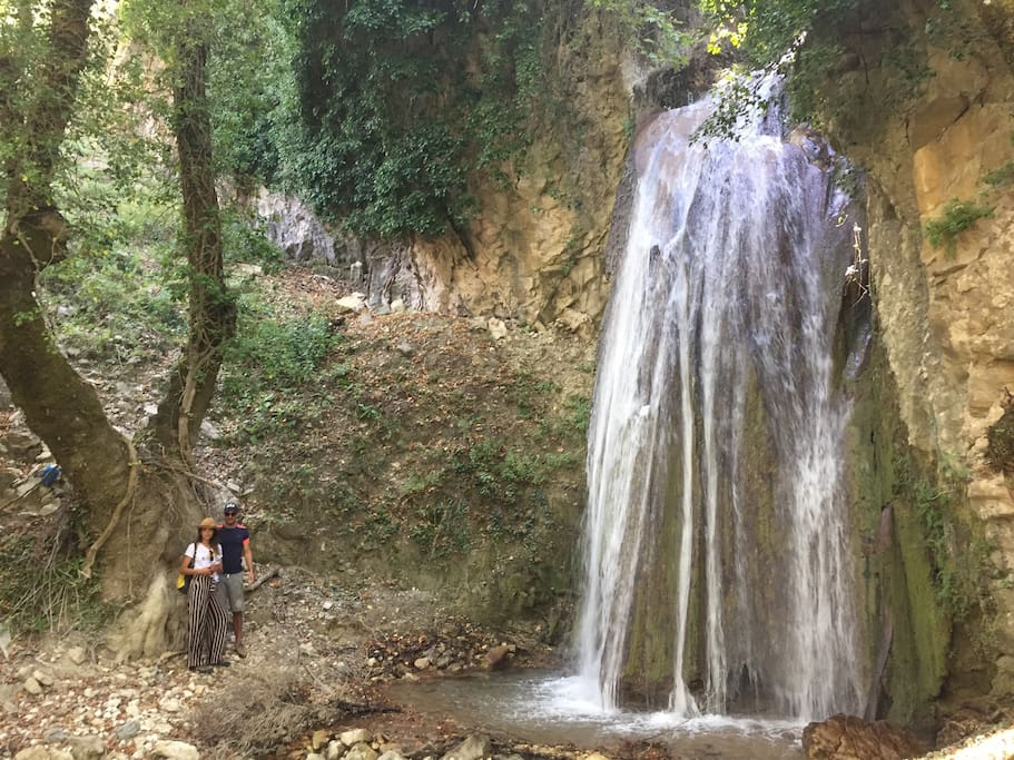 Hidden waterfall, for sportive people also :)