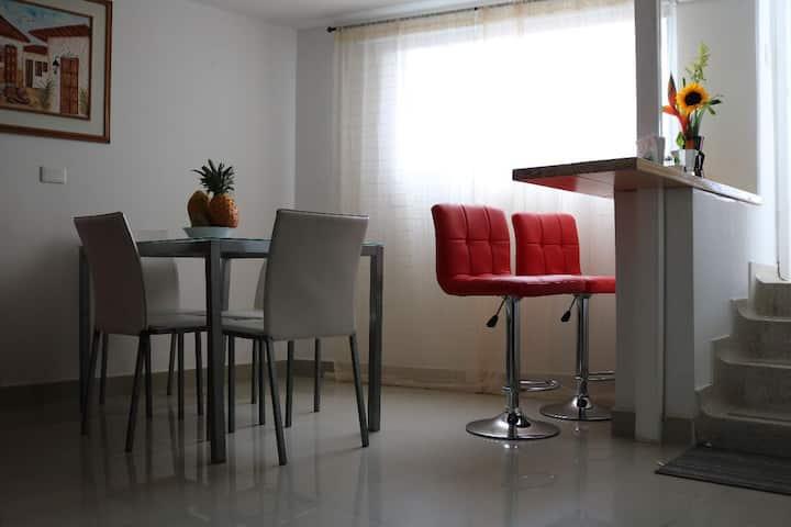 Acogedor Apartaestudio Onix House 204