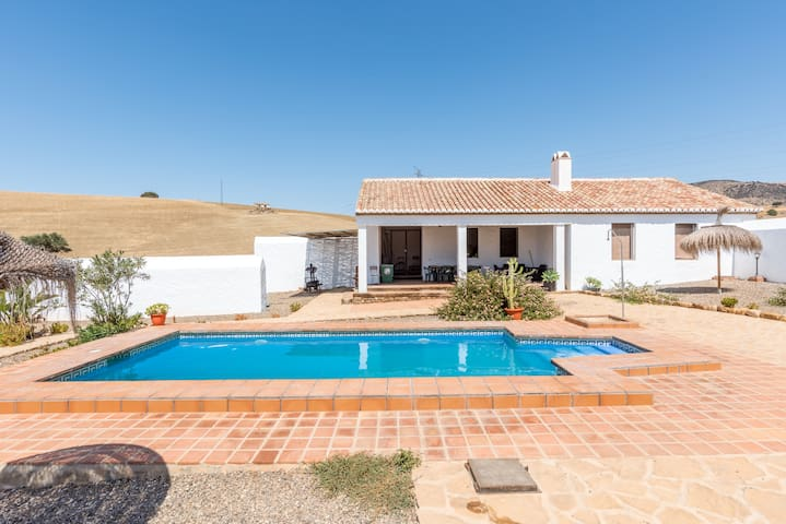 Rural Casa La Caballerias (House & Apartment) with Large Pool, Terrace, Mountain View, Wi-Fi & Air Conditioning; Parking Available