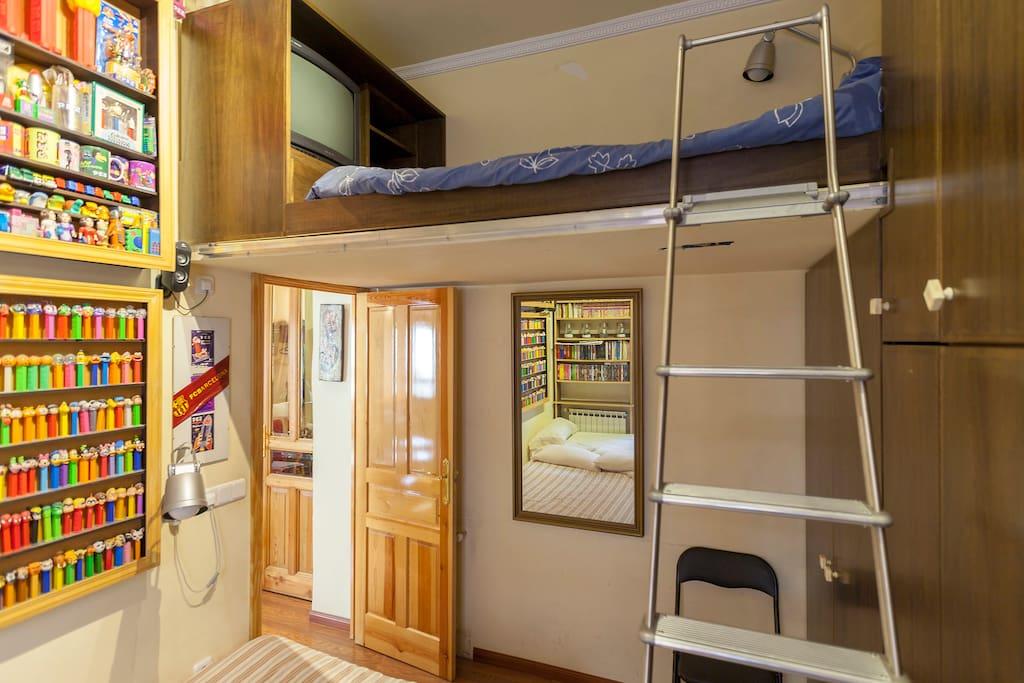 Dormitorio de 5 plazas