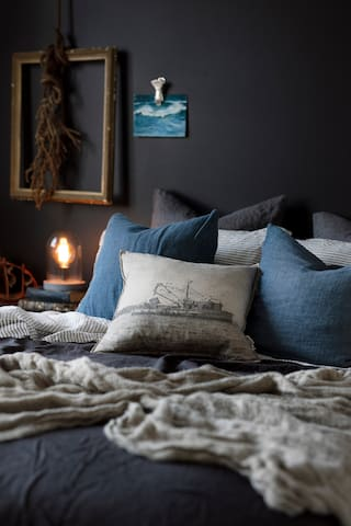 Sleep sweet with pure French linen sheets and duck down duvets.