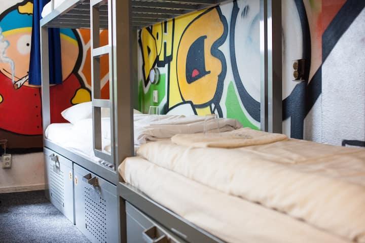 Bed in 8 Bed Dorm Ensuite