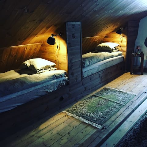 bedroom 3 (4 single beds)/living room  first floor