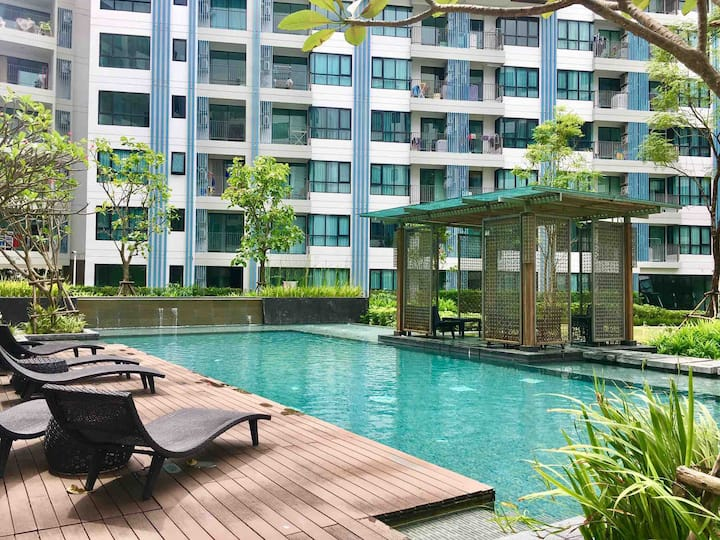 Phuket City Condo near Shopping Center