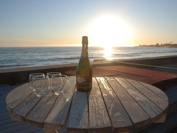 Oceanfront Faria Beach Luxury Retreat California