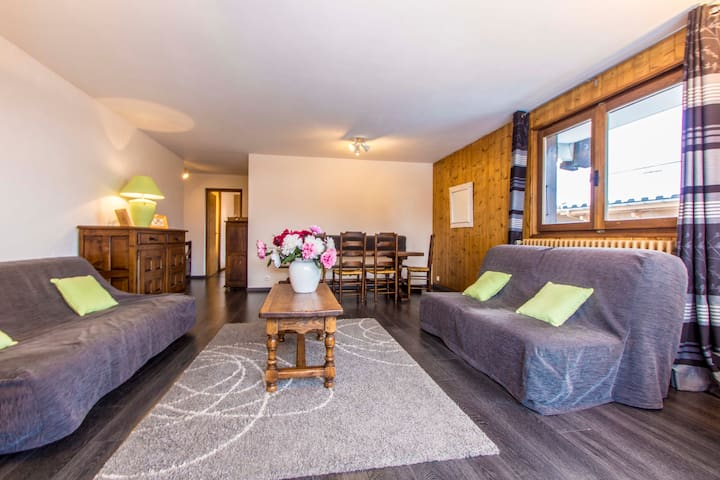 Appartement Ski-in Ski-out Jaillet - Megève - Apartamento