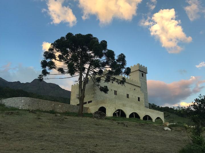 Um Castelo de verdade!