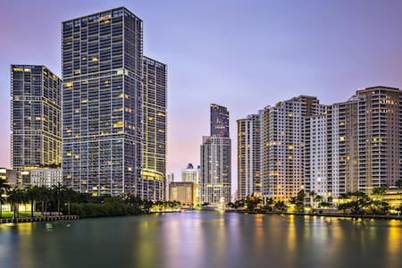 LUXURY 5★s ICON BRICKELL CONDO@47TH, SPA/GYM/POOL
