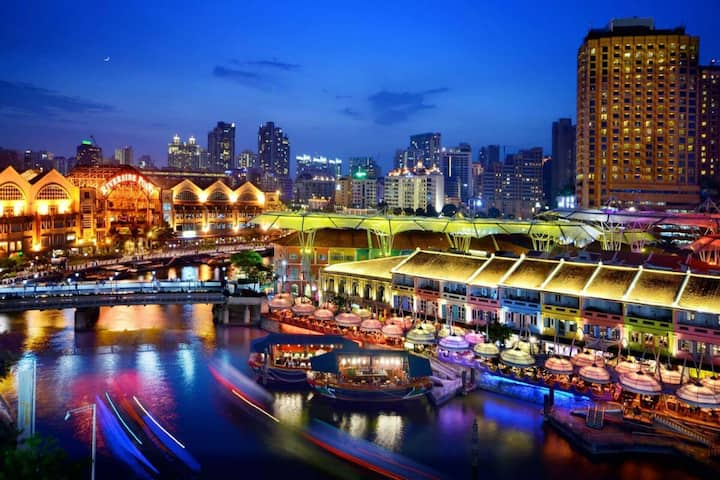 BY THE ICONIC RIVERSIDE, 3BR SPACE @ CLARKE QUAY