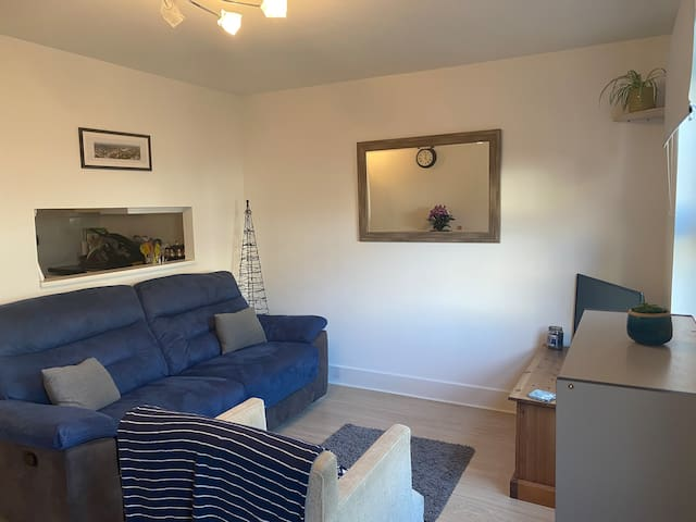 Cute London maisonette in great location with cat