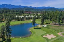 Prospector's scenic 18th hole!