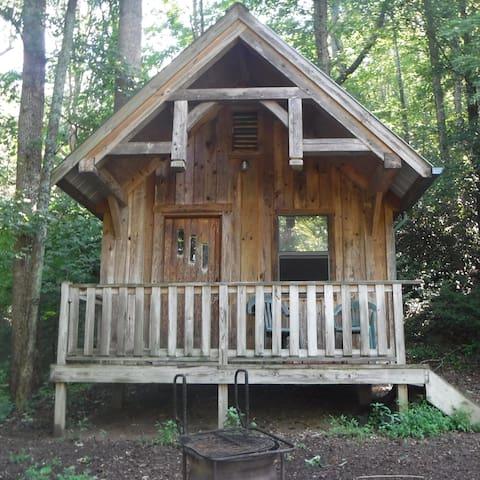Rustic River Cabin - Erwin - Srub