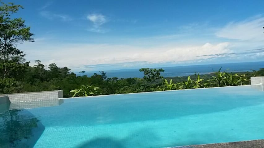 Eco Retreat-Oceanview w/ New Infinity Plunge Pool - Uvita - House