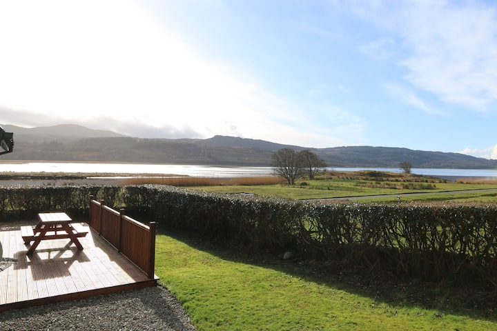 The Lodge, Ellary- Waterside, Dog Friendly, Garden