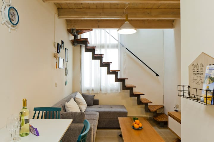 Stylish flat, Clean & Cozy in the CENTER of TLV