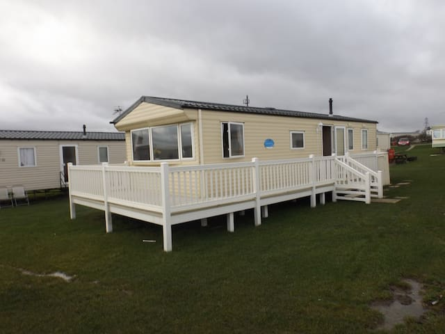 luxury holiday static caravan for families