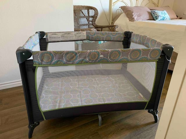 Pack n Play provided for infants