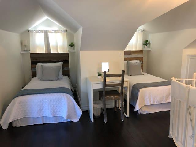Loft /Bedroom 5   2 Twin Beds 3rd floor