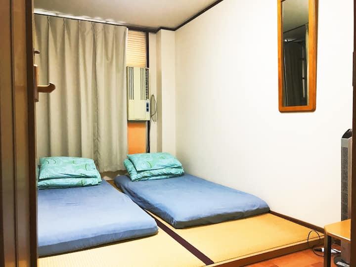 日式簡潔2人房
