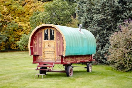 Cozy bow top wagon - Edenhall