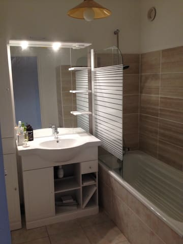 Chambre refaite à neuf - Andrézieux-Bouthéon - Wohnung
