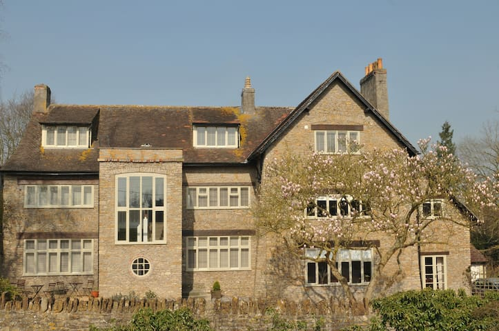 Old Parsonage House near Bath and Longleat - Beckington - Oda + Kahvaltı