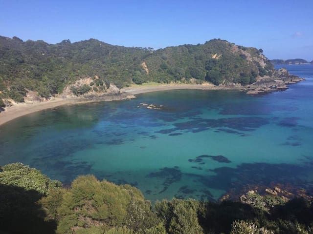 Private Beach between Matauri & Te Ngaere Bays