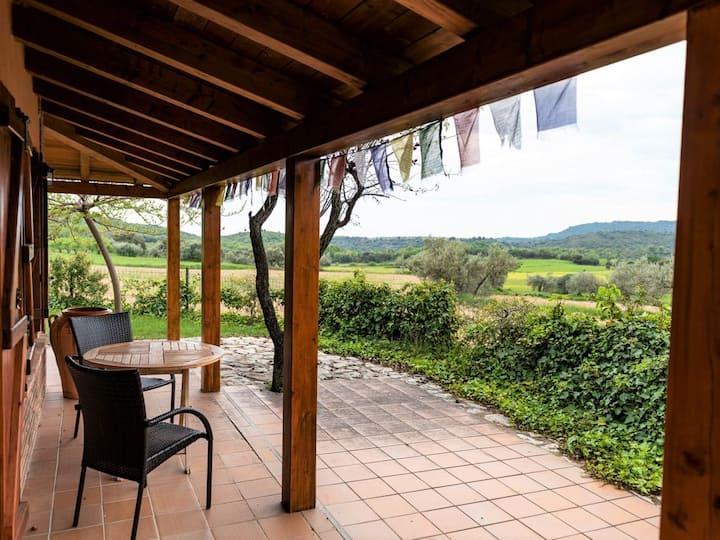 Calma de Guara, casa en el campo en Parque natural