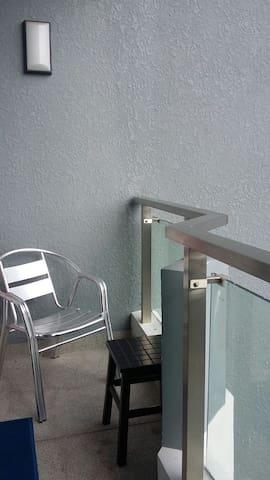 Balcony wing