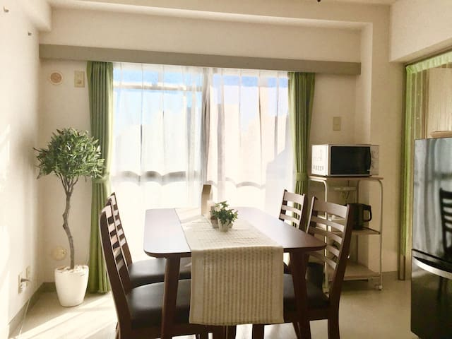 3min!!Takasaki station★Convenient and cozy rooms!! - 高崎市 - Apartamento