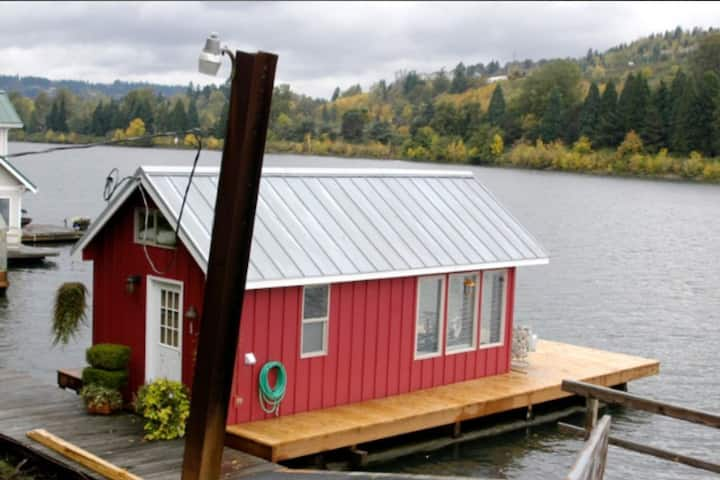 Tiny Floating Vacation Home  ( The Minnow )