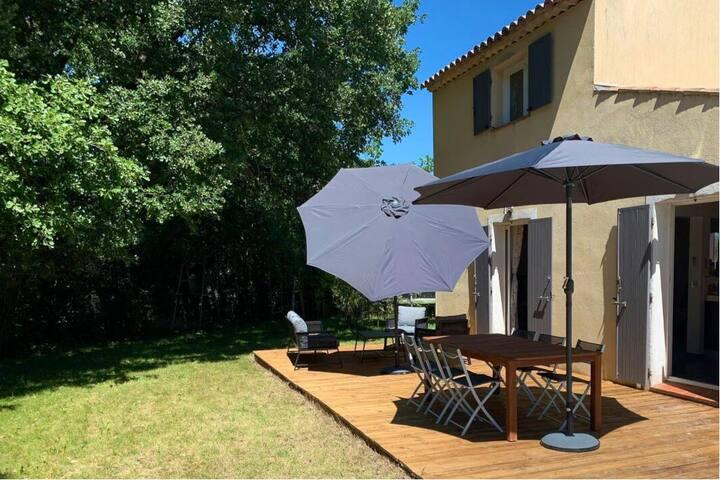 Villa avec jardin proche Aix en Provence