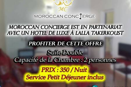 Offre exclusif 350 dh / nuit - Lalla Takerkoust - Penzion (B&B)