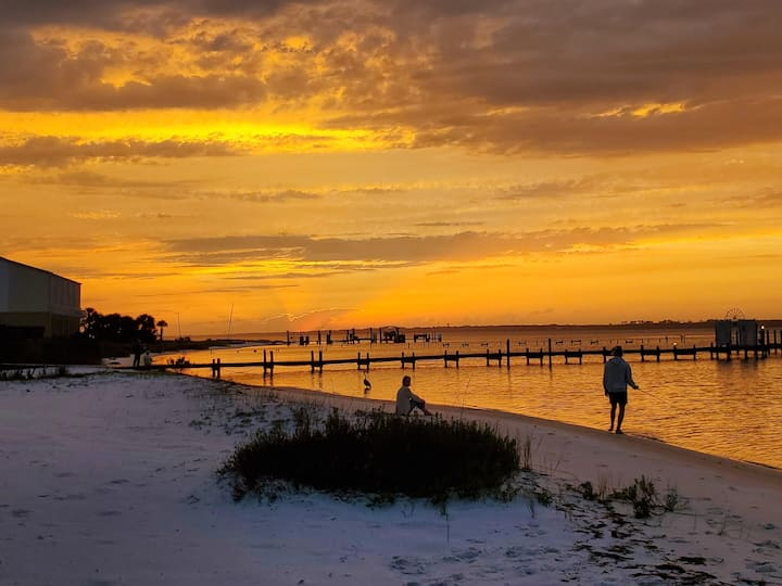 Navarre Beach is fully reopened ! Private beach