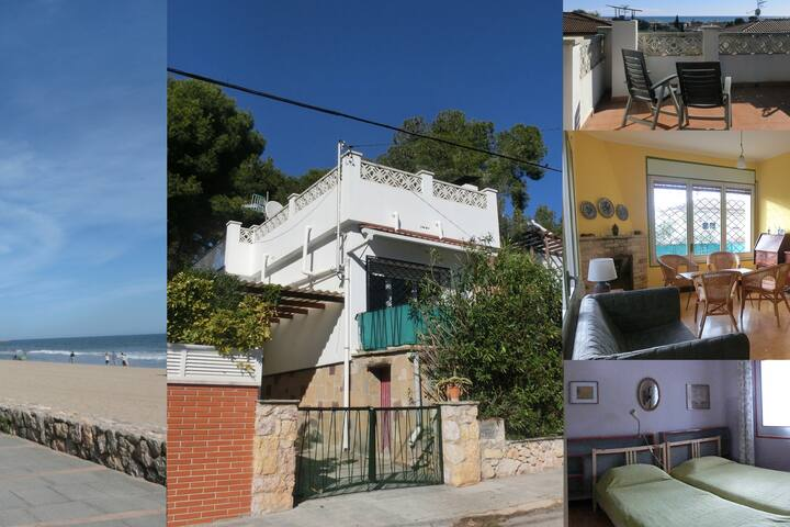 Cozy 3 bedroom detached house with roof terrace - Calafell - Hus