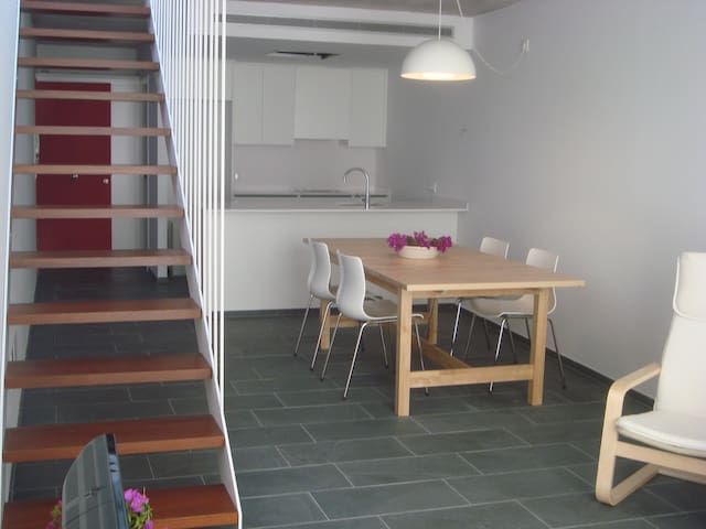 Apartamento dúplex en el centro de Menorca - Es Mercadal - Appartement