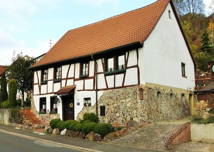Cozy tradtional half-timbered house - House