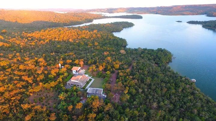 Alexânia Casa com Vista para o Lago- Corumba 4