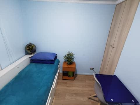 Habitación + baño privado 1 o 2 personas
