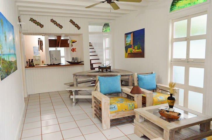 Posada Buganvilla - Habitacion Doble Rose Cay - San Andres - Dom