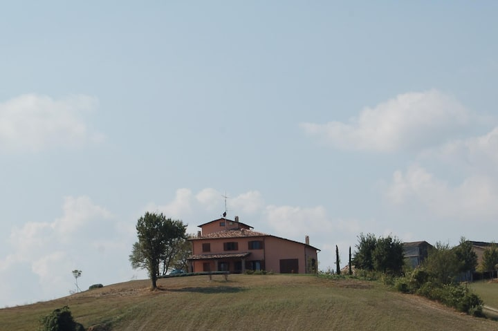 Beautiful country house on the hills near Parma