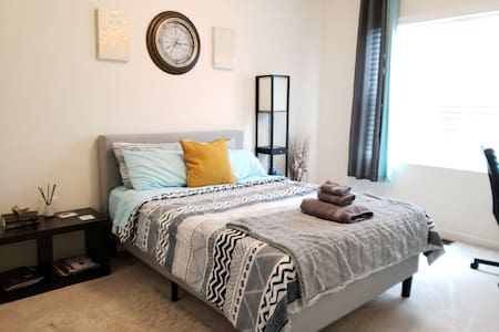RTP/RDU- Private Bedroom/Shared Bathroom #1